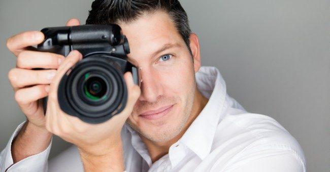 Un photographe professionnel : un artiste qui s'exprime