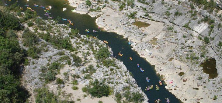Gorge de l'Ardèche en canoë